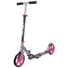 HUDORA Hornet City Scooter Kinder schwarz/pink